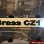 Cutting Marking Brass Pulsed Lasers