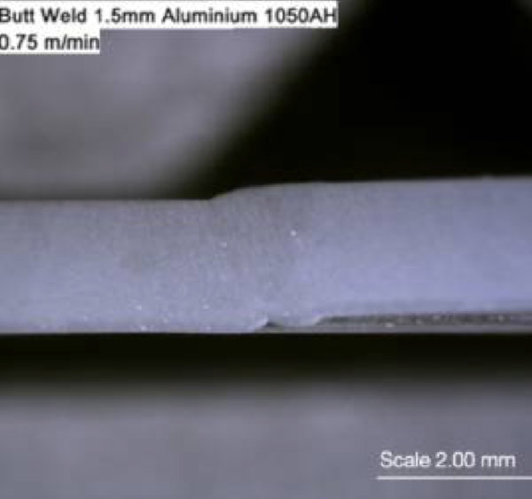Butt Welding of Aluminium