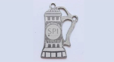Pewter cutting, engraving and marking