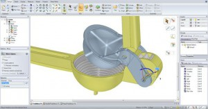 Increased precision is achieved with 3D printing from a CAD model
