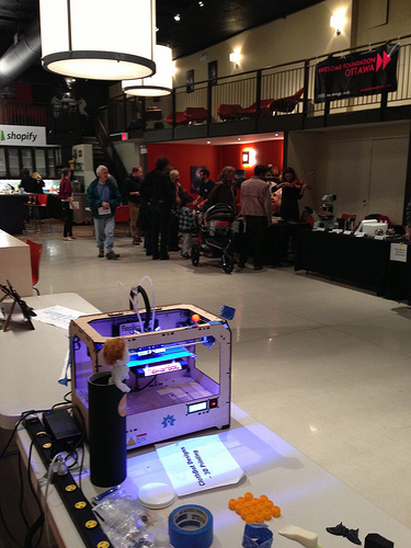 3D printing of LEDs.