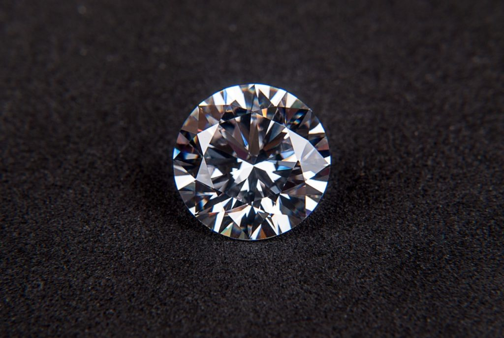 Laser cutting can be used on materials such as diamonds