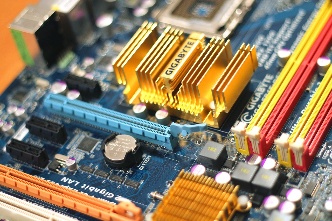 The electronics industry contains hundreds of intricate parts, perfect for the laser cutting process