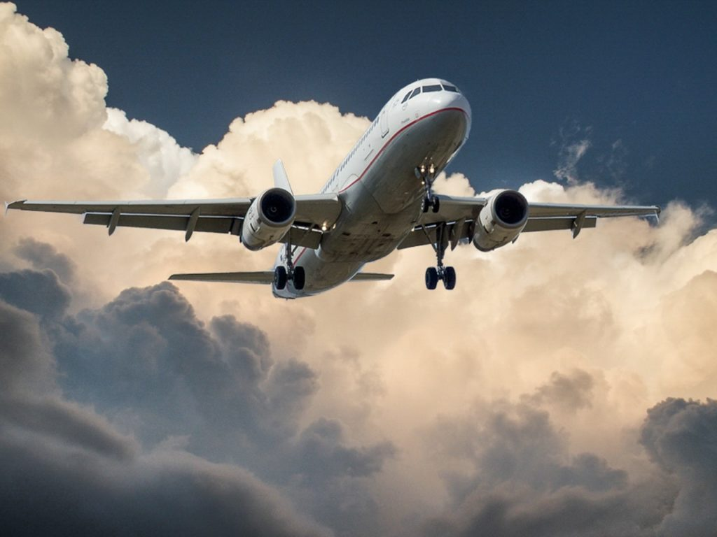 Laser marking is often used in the aerospace industry