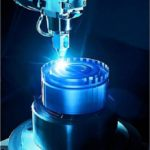 Laser welding in action