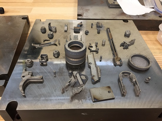 Components can be made through additive manufacturing processes.
