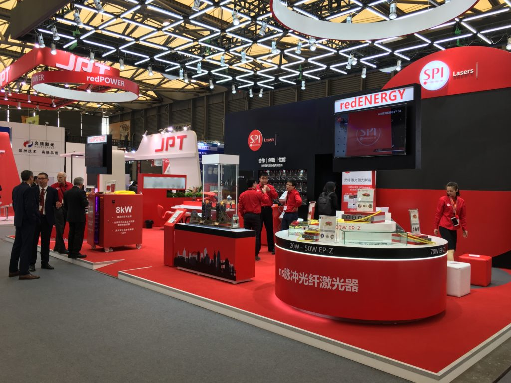 Our stand at Laser World of Photonics China 2018