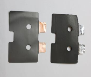 Coated aluminium and copper foil, as used in electric vehicle batteries
