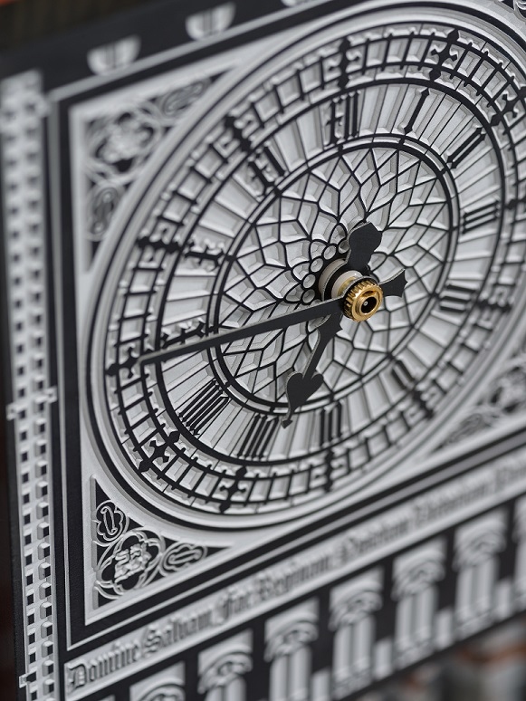 Big Ben Clock Face Deep Engraved Fiber Laser processing