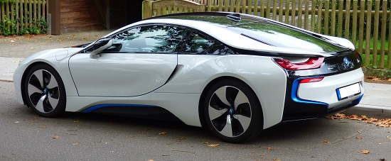 The BMW i8 is one of a new breed of low design complexity electric cars