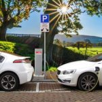 Electric car parking and charging are often combined