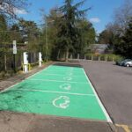 Expect to see an increase in the number of electric charging bays available