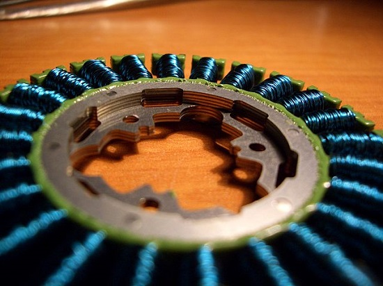 Stator from an electric motor
