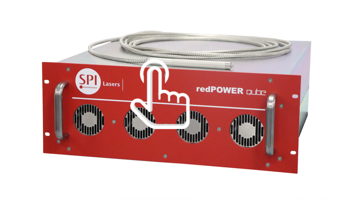 redPOWER QUBE 100W-200W Air Cooled Fiber Laser