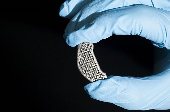 3D printing a spinal disc