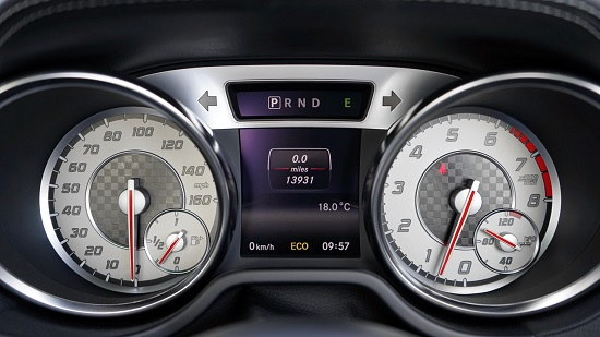 Night and day marking is used for car dashboards