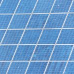 Silicon in solar cells interacts with photons