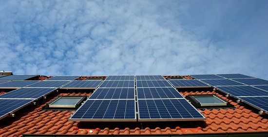 Solar cells provide clean power from sunlight